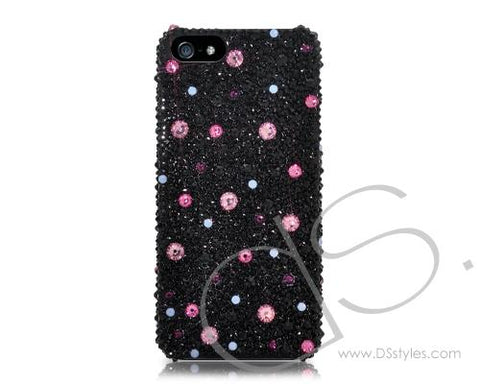 Color Dotted Bling Swarovski Crystal Phone Cases
