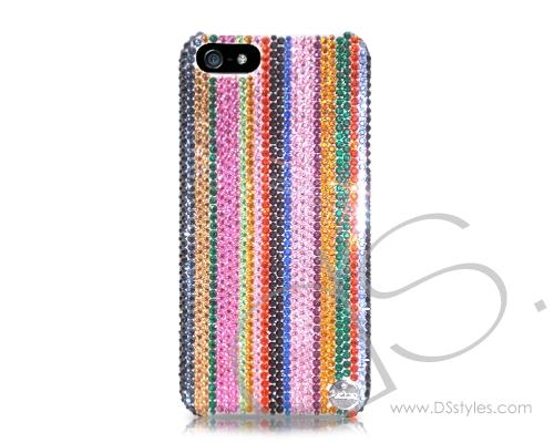 Pattern Neo Bling Swarovski Crystal Phone Cases