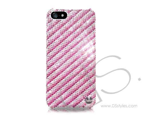 Pattern Paraline Bling Swarovski Crystal Phone Cases