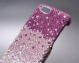 Gradation Bling Swarovski Crystal iPhone 8 Covers - Purple