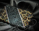 Leopardo Bling Swarovski Crystal iPhone 8 Cases - Print
