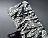 Zebra Bling Swarovski Crystal Phone Cases
