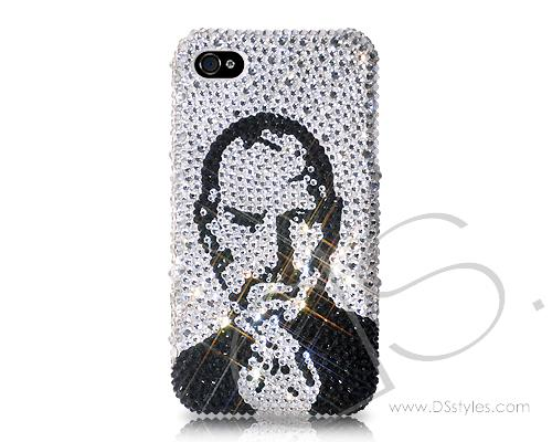 In Memory Of Steve Jobs Bling Swarovski Crystal Phone Cases