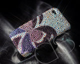 Butterfly Bling Swarovski Crystal Phone Cases - Purple