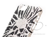 Skull Mercury Head Bling Swarovski Crystal Phone Cases
