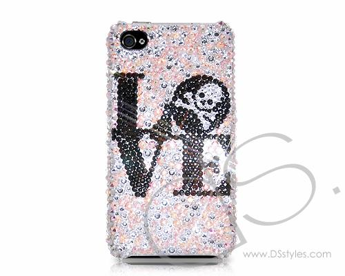 Fancy Love Bling Swarovski Crystal Phone Cases - LOVE