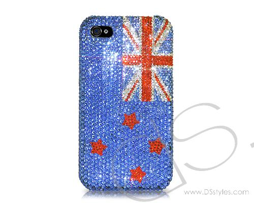 National Series Bling Swarovski Crystal Phone Cases - New Zealand