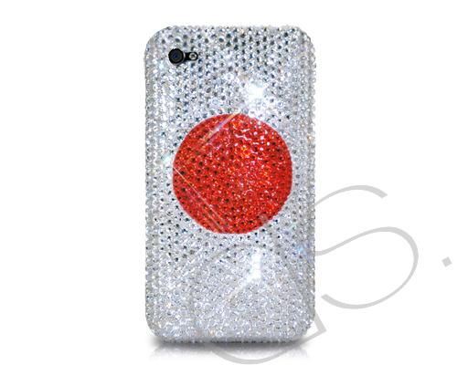 National Series Bling Swarovski Crystal Phone Cases - Japan
