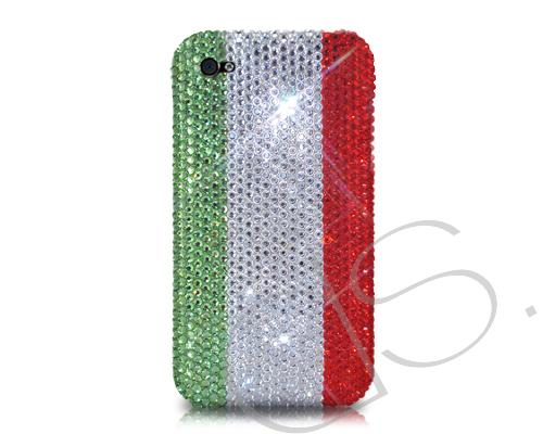 National Series Bling Swarovski Crystal Phone Cases - Italy