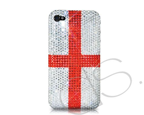 National Series Bling Swarovski Crystal Phone Cases - England