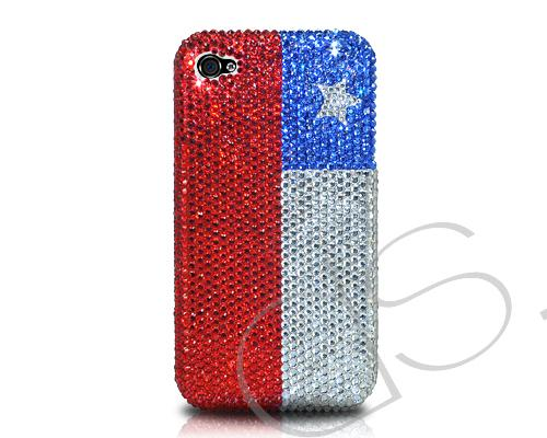 National Series Bling Swarovski Crystal Phone Cases - Chile
