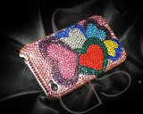 Fancy Love Bling Swarovski Crystal Phone Cases - Multi Color