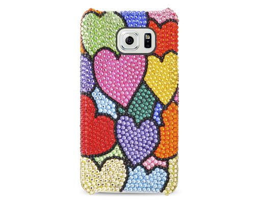Fancy Love Bling Swarovski Crystal Phone Cases - Colorful