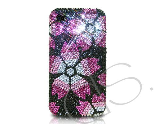 Petals Bling Swarovski Crystal Phone Cases
