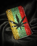 Leaf Bling Swarovski Crystal Phone Cases
