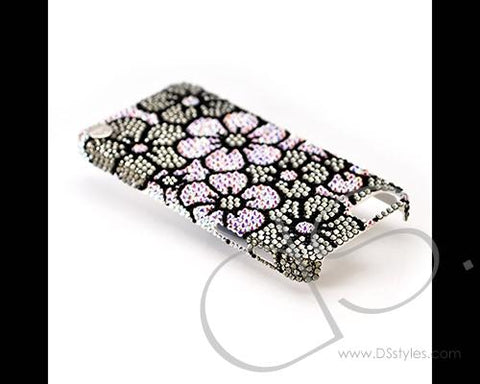 Sweet Bonquet Bling Swarovski Crystal iPhone 12 Cases - Black
