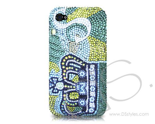 Personalized Crown Bling Swarovski Crystal Phone Cases