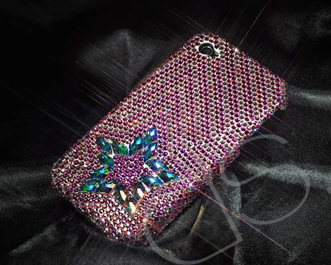 Multi Stars Bling Swarovski Crystal Phone Cases - Pink