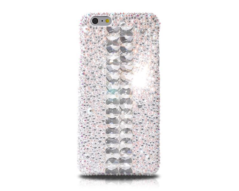 Cubical Silver Bling Swarovski Crystal Phone Cases