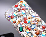 Casta Bling Swarovski Crystal Phone Cases - Silver