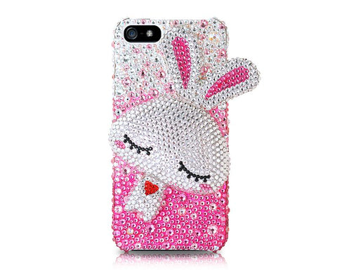 Rabbit 3D Bling Crystal Phone Case