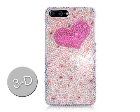 Fancy Love Bling Swarovski Crystal Phone Cases - Silver