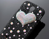 Fancy Love Bling Swarovski Crystal Phone Cases - Black