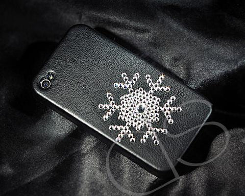 Snowflake BBling Swarovski Crystal Phone Cases