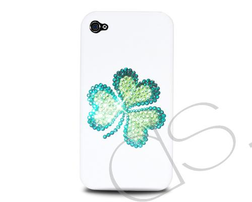 Shamrock Bling Swarovski Crystal Phone Cases