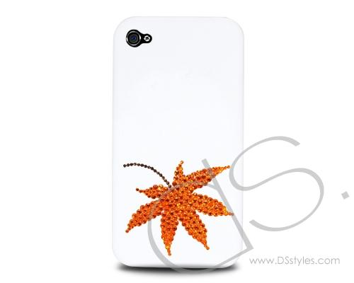 Maple Leaf Bling Swarovski Crystal Phone Cases - Harmonized