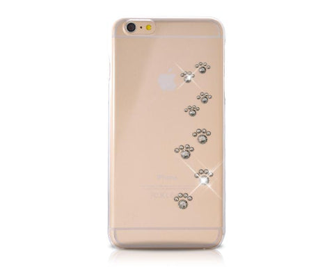 Paw Print Bling Swarovski Crystal iPhone Xs Max Cases