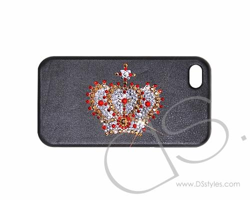 King Bling Swarovski Crystal Phone Cases - Black