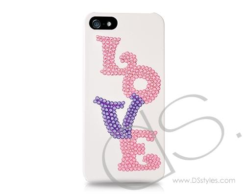 Love Bling Swarovski Crystal Phone Cases - Endless Love