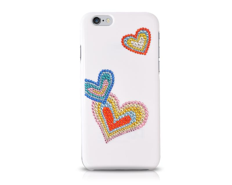 Love Bling Swarovski Crystal Phone Cases - Promise