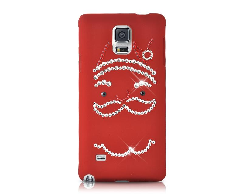 Christmas Santa Bling Swarovski Crystal iPhone 8 Cases - Red