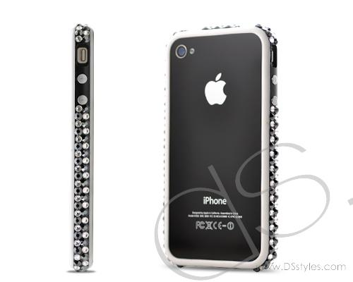 Bumper Bling Swarovski Crystal Phone Cases - Black