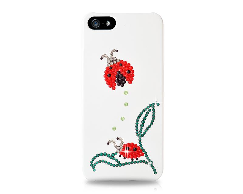 Coccinella Bling Swarovski Crystal Phone Cases