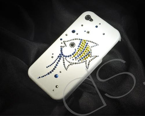 Tropical Fish Bling Swarovski Crystal Phone Cases