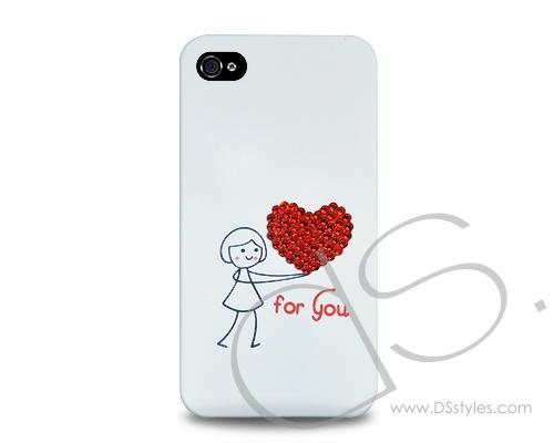 Love Bling Swarovski Crystal Phone Cases - For Him