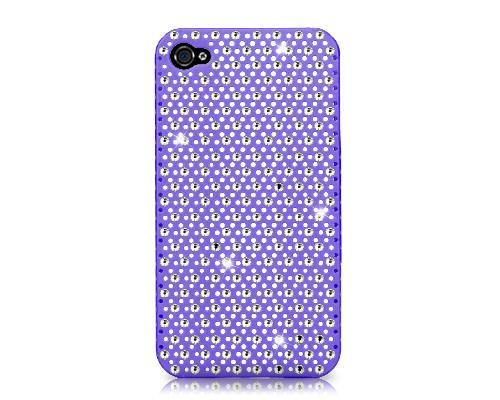 Flashing Bling Swarovski Crystal Phone Cases - Purple