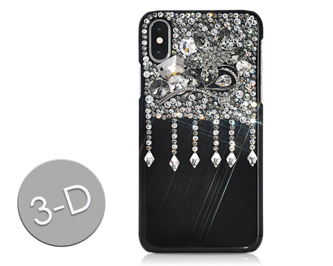 Drops Diamond Bling Swarovski Crystal iPhone X Cases