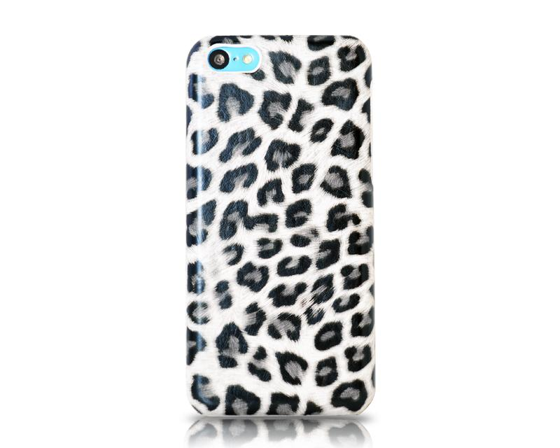 Leopard Series iPhone 5C Case - White