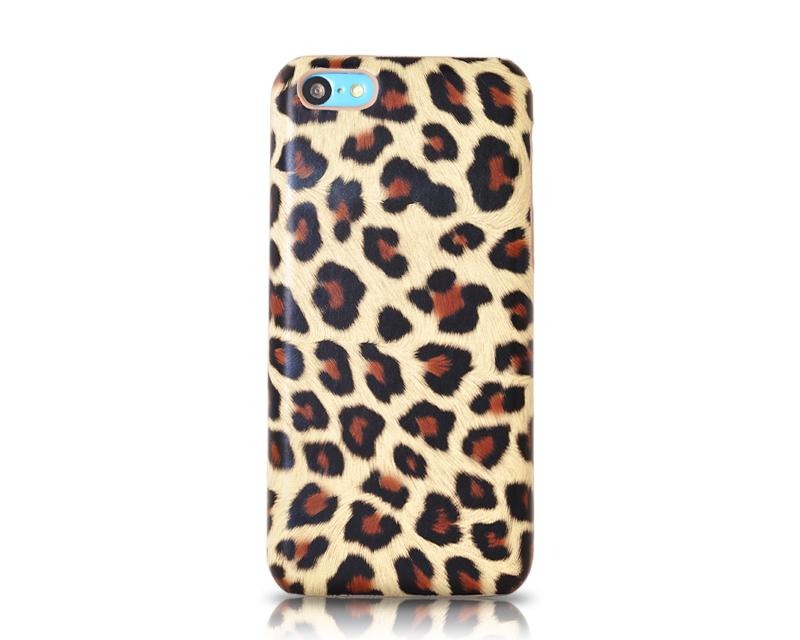 Leopard Series iPhone 5C Case - Brown