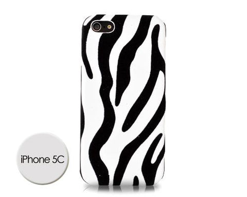 Zebra Series iPhone 5C Case - White
