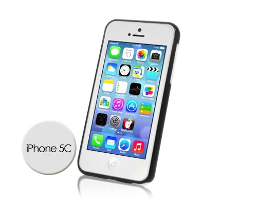 Bumper Series iPhone 5C Case - Black White
