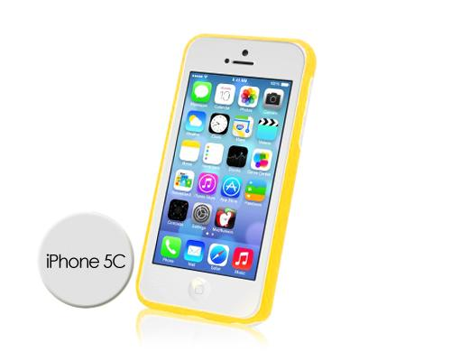 Bumper Series iPhone 5C Case - Yellow White