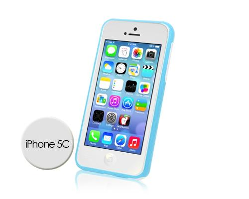 Bumper Series iPhone 5C Case - Blue White