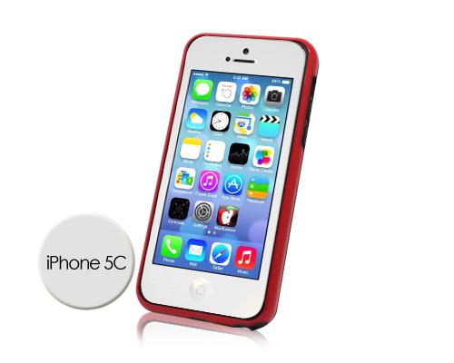 Bumper Series iPhone 5C Case - Red Black