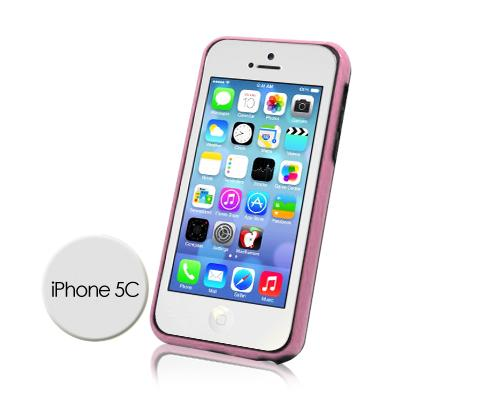 Bumper Series iPhone 5C Case - Pink Black