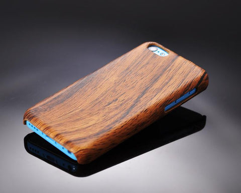 Wooden Series iPhone 5C Case - Brown